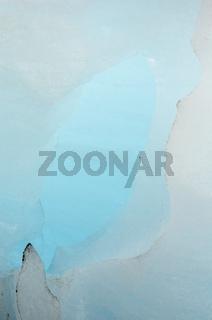 Eisstrukturen im Gletscher Nigaardsbreen, Jostedalsbreen Nationalpark, Breheimen, Sogn og Fjordane Fylke, Norwegen