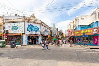 Argentina Coroboba San Martin shopping street
