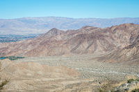 An overlooking view of nature in Palm Springs, California