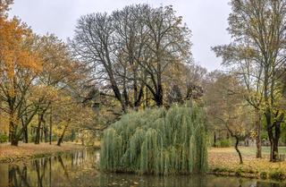 Chemnitz - Schlossteichinsel mit Parkanlage