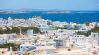 Mykonos town in Greece