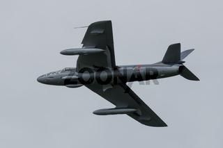 Oostwold, Netherlands May 25, 2015: RNLAF Hawker Hunter