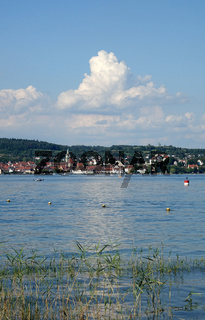 Blick über den Bodensee nach Ueberlingen