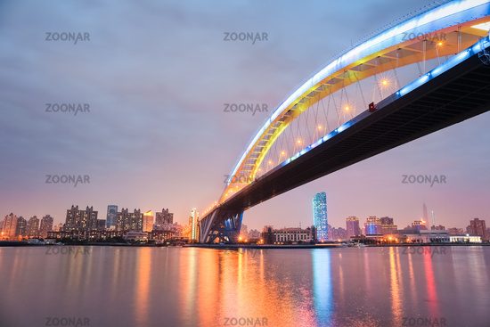 shanghai lupu bridge