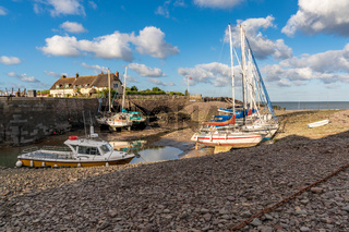 Porlock Weir, Somerset, England, UK