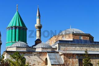 Mevlana Museum in Konya Central Anatolia