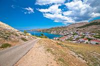 Idyllic coastal village of Metajna, Island of Pag