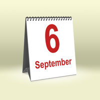 September 6th | 6.September