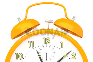 orange alarm clock