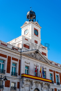 Puerta del Sol square in Central Madrid