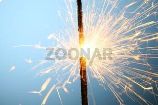 sparkler fire