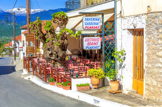 Traditional Greek tavern, Greece