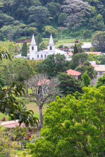 Panama Boquete San Juan Bautista Church