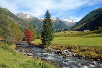 mallnitz valley in austria