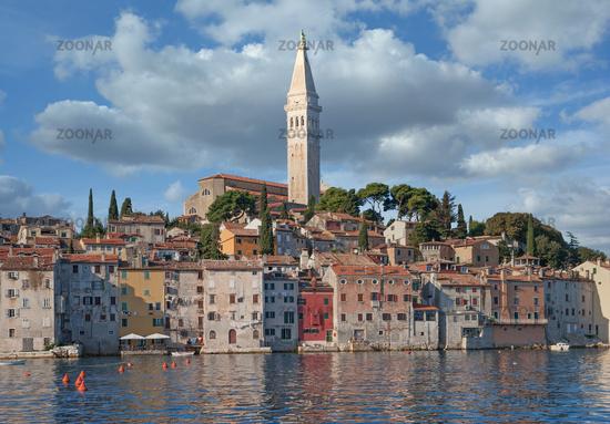 Rovinj at adriatic Sea,Istria,Croatia