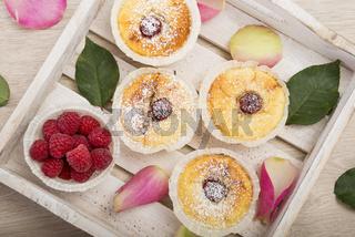 Himbeer Käsekuchen Muffins