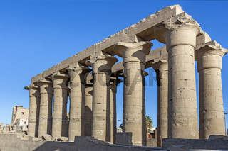 Processional colonnade of Amenhotep III