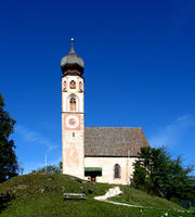 Church of St. Konstantin at Völs in South Tyrol