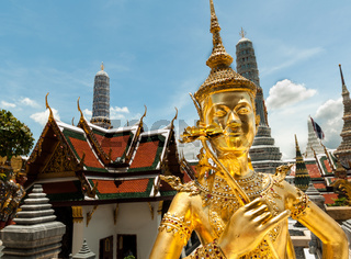 Ki-nara at Grand Palace, Bangkok ,Thailand