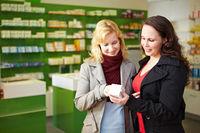 Mündige Verbraucher in Apotheke