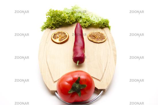 Tomato with Chilli pod