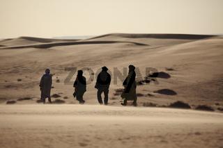 Die Sahara in Algerien