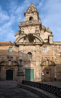 Iglesia de Santa Maria del Campo, A Coruna, Galicia, Spain