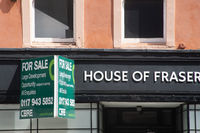 House of Fraser store up for sale