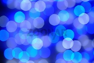 Hintergrund Blaue Lichter