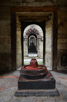 Stone Shiva lingam