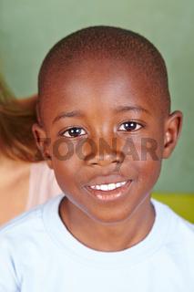 Portrait eines afrikanischen Jungen
