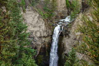 Tower Falls in Yellowstone National Park
