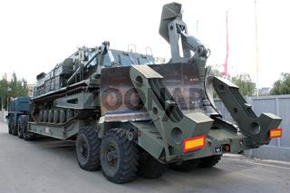 old Soviet Armored troop-carrier