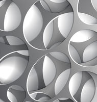 Steel wholes background abstract