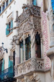 Casa Batllo - House of Bones by Antonio Gaudi.