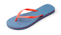 Single blue flip flop