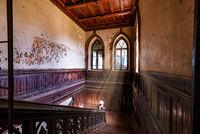 Staircase in Sharovskiy Castle