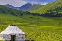 Yurt of the nomadic Kazakhs