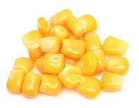Corn on white