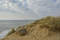 Sylt at the red cliff