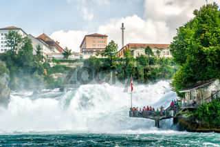 Rheinfall in Swiss