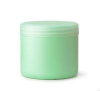 Green blank cosmetic jar