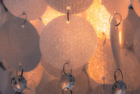 ceiling lamp glitters when it shines