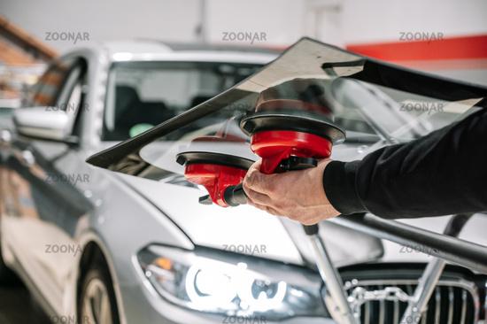 Car Glass Repair and Replacement.