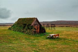 Geirsstadakirkja in Borgarfjordur Eystri, Iceland