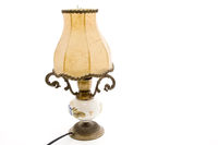 Lamp with screen