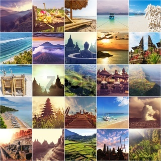 Indonesia collage