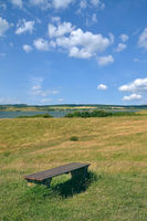 Landscape at Moenchgut region,Ruegen,baltic Sea,Mecklenburg western pomerania,Germany