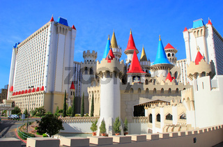 Excalibur hotel and casino, Las Vegas, Nevada