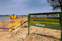 Ferry across the Nile, Murchison Falls National Park Uganda